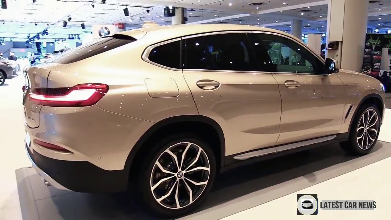 2019 Bmw X4 30i Xdrive Exterior And Interior Walkaround