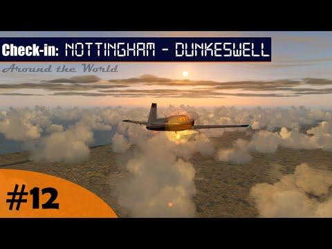 Flight Simulator | Around the World #12 - Nottingham (EGBN) - Dunkeswell (EGTU) (VATSIM) | Mooney