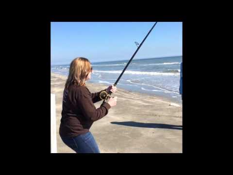 Galveston Texas pocket park 1 Surf Fishing Bull Reds