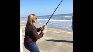 Episode 2 Galveston pocket park 1 Texas Surf Fishing Bull Reds Jamaica Beach