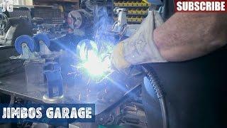 Mobil Metal Shop Table - Jimbos Garage