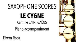 LE CYGNE – Camille SAINT-SAËNS – Piano accompaniment