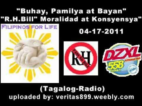 Filipinos for Life 04-17-2011-RMN-DZXL Anti-RH-Bill (Tagalog-Radio)