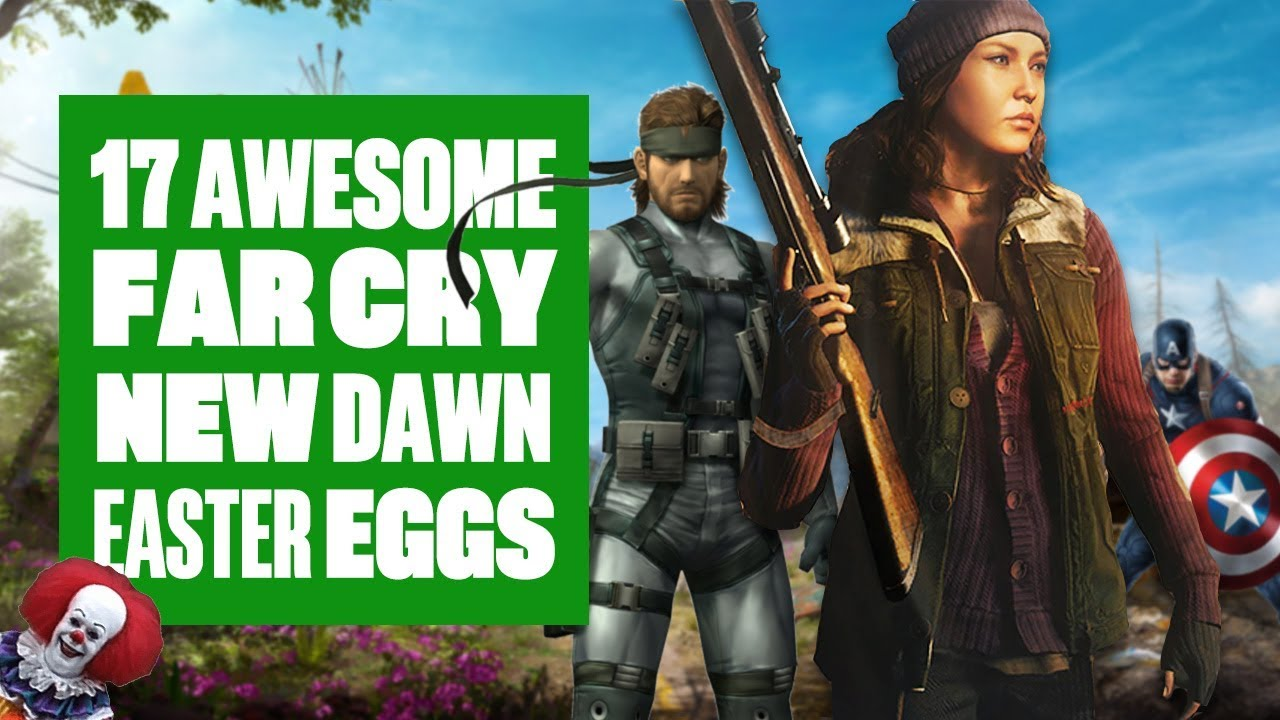 17 Far Cry New Dawn Easter Eggs You Might Have Missed Captain America Metal Gear Solid And More Youtube