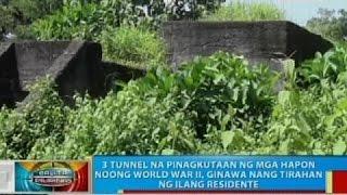 3 tunnel sa Pili na pinagkutaan ng mga Hapon noong WW II, ginawa nang tirahan ng ilang residente