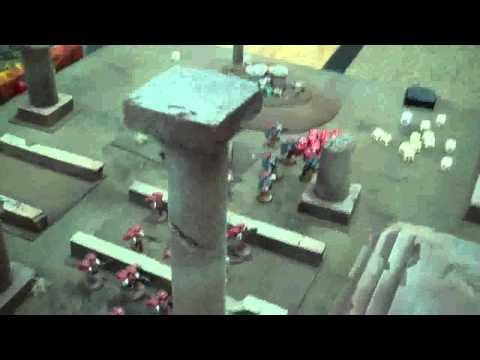 Blood Angels vs Deathguard 01 Sands of Thoth