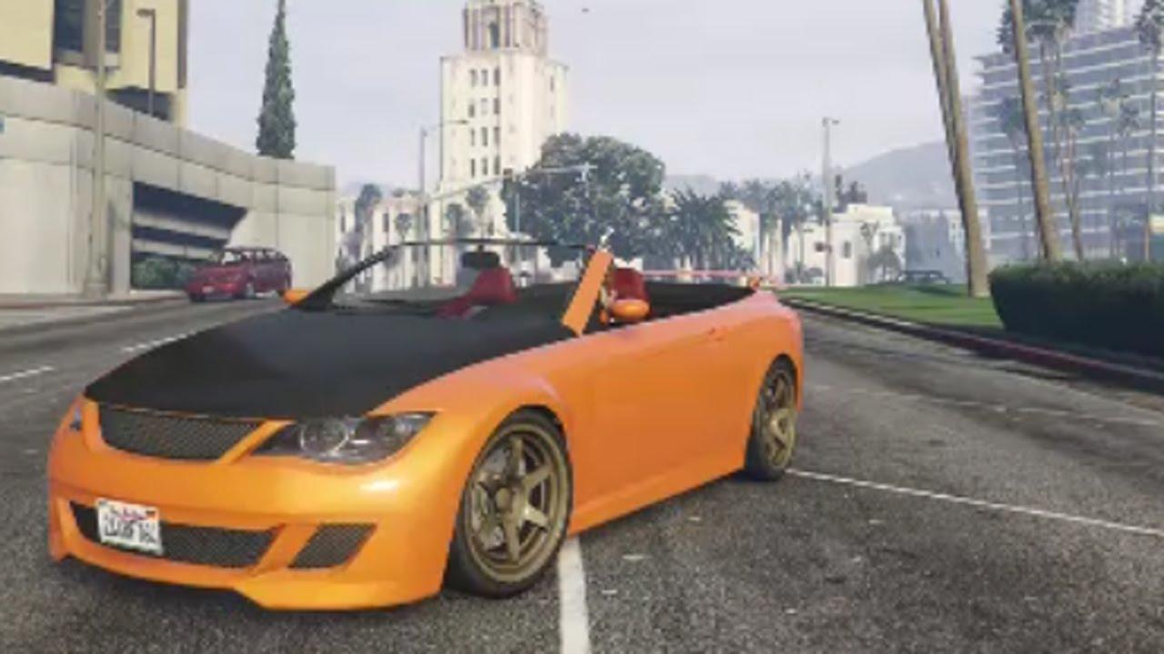 GTA 5 Online Customization - Übermacht Zion Cabrio (Next ... Ubermacht Zion Cabrio Gta 5