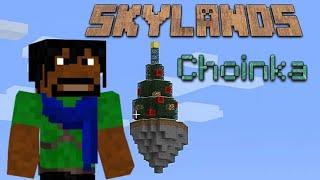 Minecraft Skylands (PL) część 40 - Świąteczna Choinka