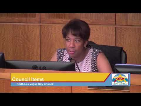 April 18, 2018 North Las Vegas City Council Meeting