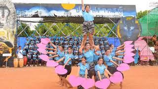 กองเชียร์คณะสีฟ้า โรงเรียนภูเขียว Day 15-08-61