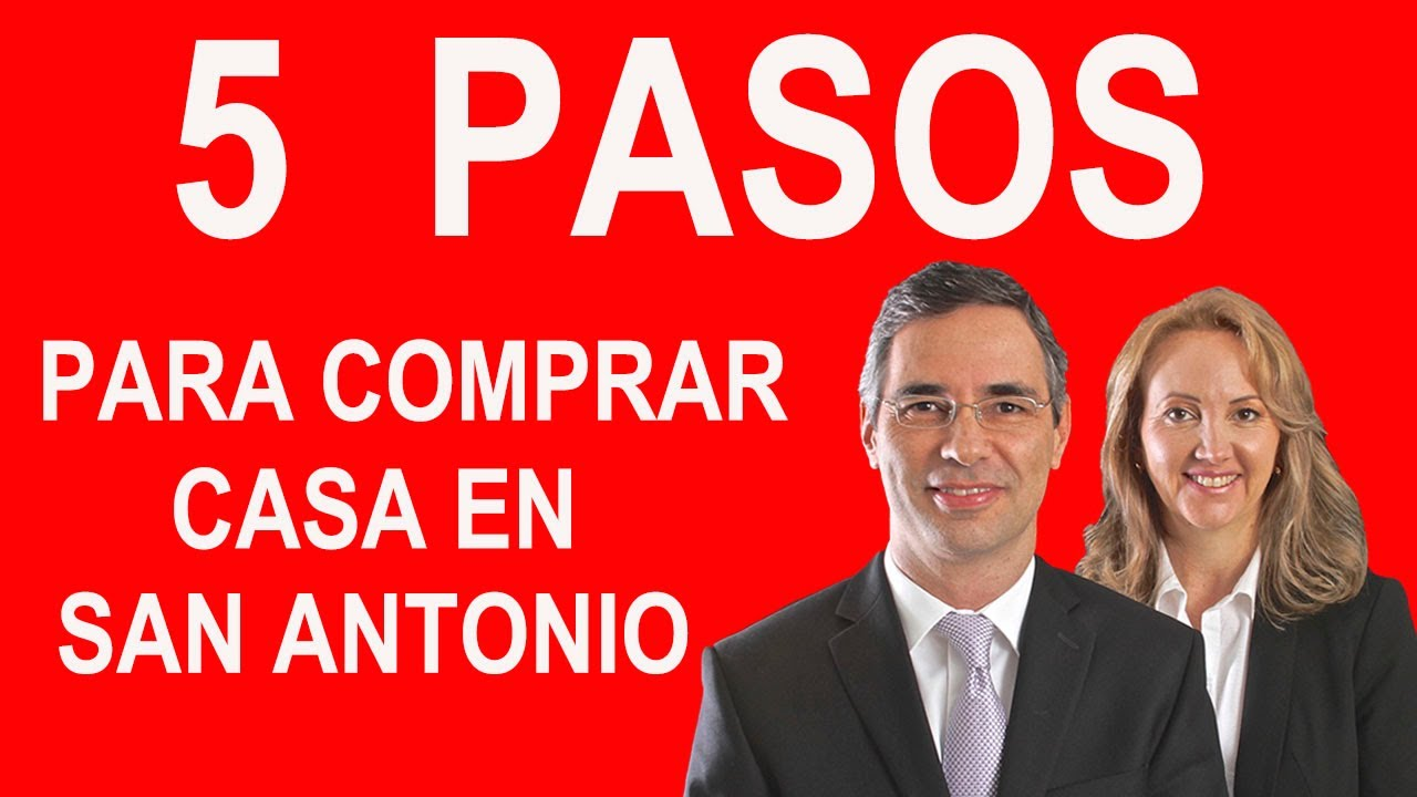 COMO COMPRAR CASA EN SAN ANTONIO TEXAS EN 5 PASOS  YouTube