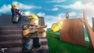 ISLAND ROYALE ROBLOX DUO - SQUAD ROAD TO 100 SUBS