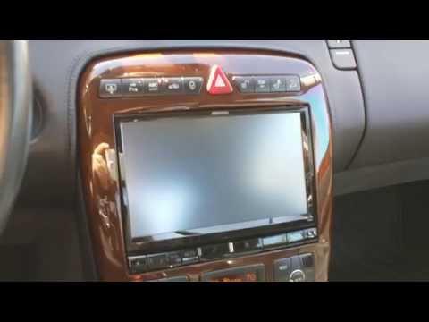 Alpine X009U Installed in a Brabus T12 Mercedes Benz SL 600 QI iPhone Charging