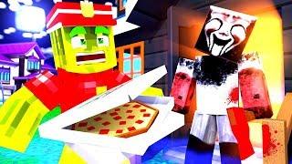 1 NACHTSCHICHT als PIZZA LIEFERANT?! - Minecraft ALLTAG