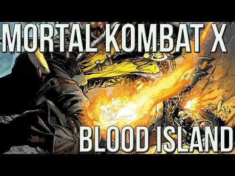 Mortal Kombat X Comic Vol 3 Blood Island - Comicstorian