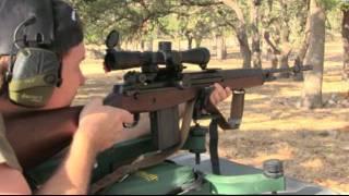 M14 rifle - Leopold Mark IV Scope - Shooting Water Bottles