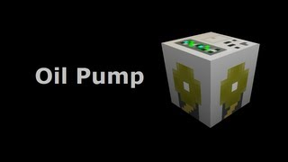 Oil Pump (Tekkit/Feed The Beast) - Minecraft In Minutes