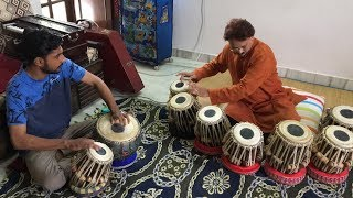 TABLA TARANG : Raag Bhupali on tabla by Pandit Ram Krishna Bose | Sangeet Pravah World