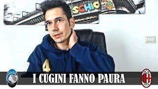 """e mo so caz*i: """"PIATEK ARMA LETALE! I CUGINI FANNO PAURA"""" Atalanta-Milan 1-3 Tifoso Inter"""