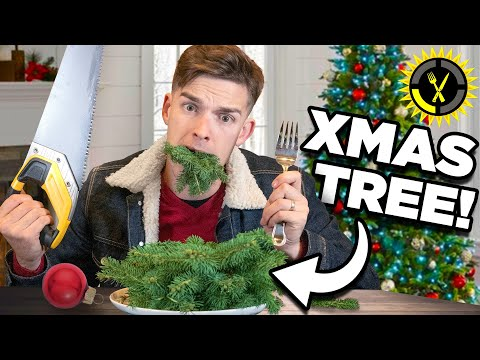 Food Theory: I Ate My Whole Christmas Tree... And So Can You! - The Food Theorists