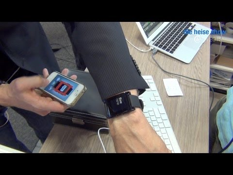 heise show IFA 2013 Tag 1: Smartwatches, Phablets, NSA, Heise-Stand