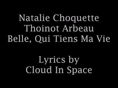 Thoinot Arbeau - Belle, Qui Tiens Ma Vie with lyrics and English translation