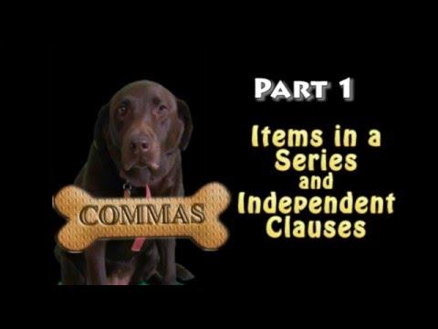 Understanding Commas, Part 1