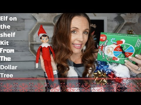 Dollar Tree Elf On The Shelf Kit| Easy For You Fun For Your Kids