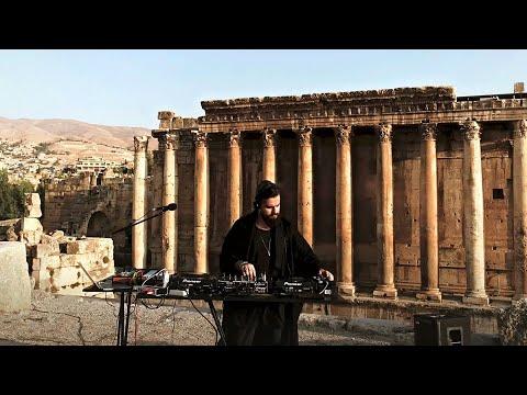 Mel7em performs at Roman Temples of Baalbek بعلبك, Lebanon for Cafe De Anatolia