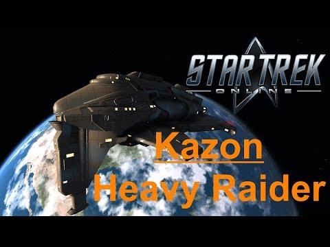 Star Trek Online - Kazon Heavy Raider Gameplay