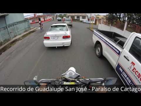 Recorrido de Guadalupe San José - Paraíso de Cartago