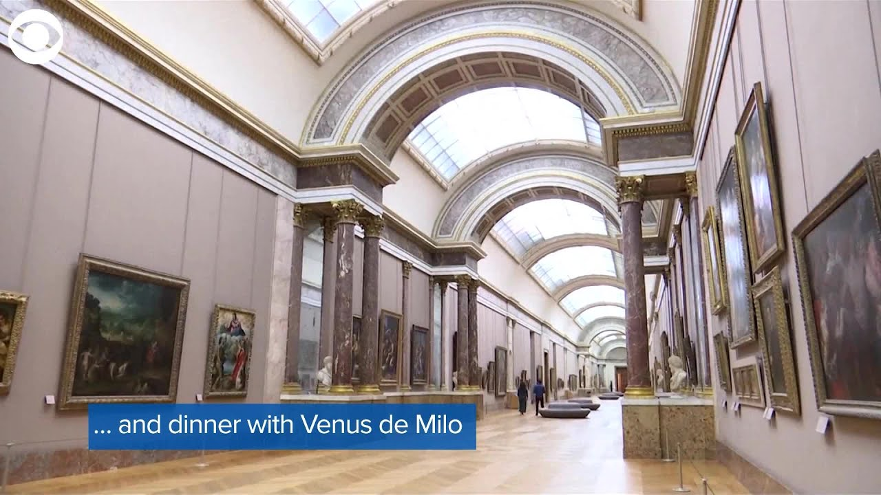 WEB EXTRA: Airbnb Louvre Experience