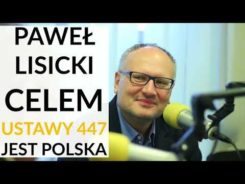 Lisicki: Głównym celem ustawy 447 jest Polska. Musimy zacząć grać w polityce na wielu fortepianach