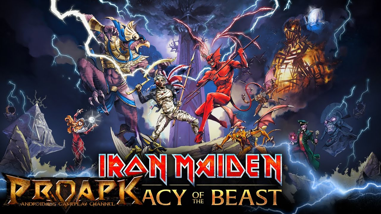 Iron Maiden Legacy Of The Beast Gameplay Legacy Time