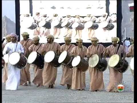 Oman   folk festival in Musandam Governorate celebrates to welcome HM Sultan Qaboos 28 10 2012