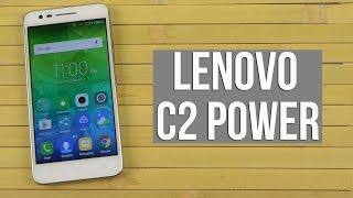Розпакування Lenovo C2 Power White