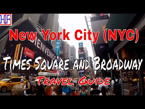 New York City (NYC) | Times Square and Broadway | Tourist Attractions | Episode# 12