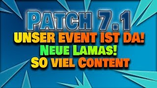 Patchnotes 7.1 - FROSTNITE EVENT! | Fortnite Save the World