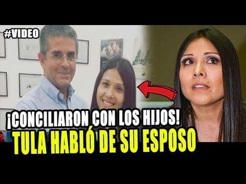 TULA RODRIGUEZ HABLÓ SOBRE EL ESTADO DE SU ESPOSO JAVIER CARMONA