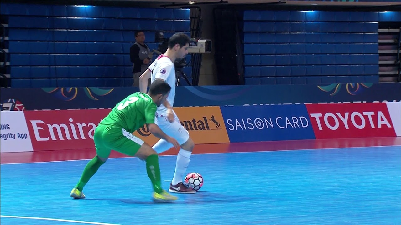 Video: Futsal Iran vs Futsal Iraq