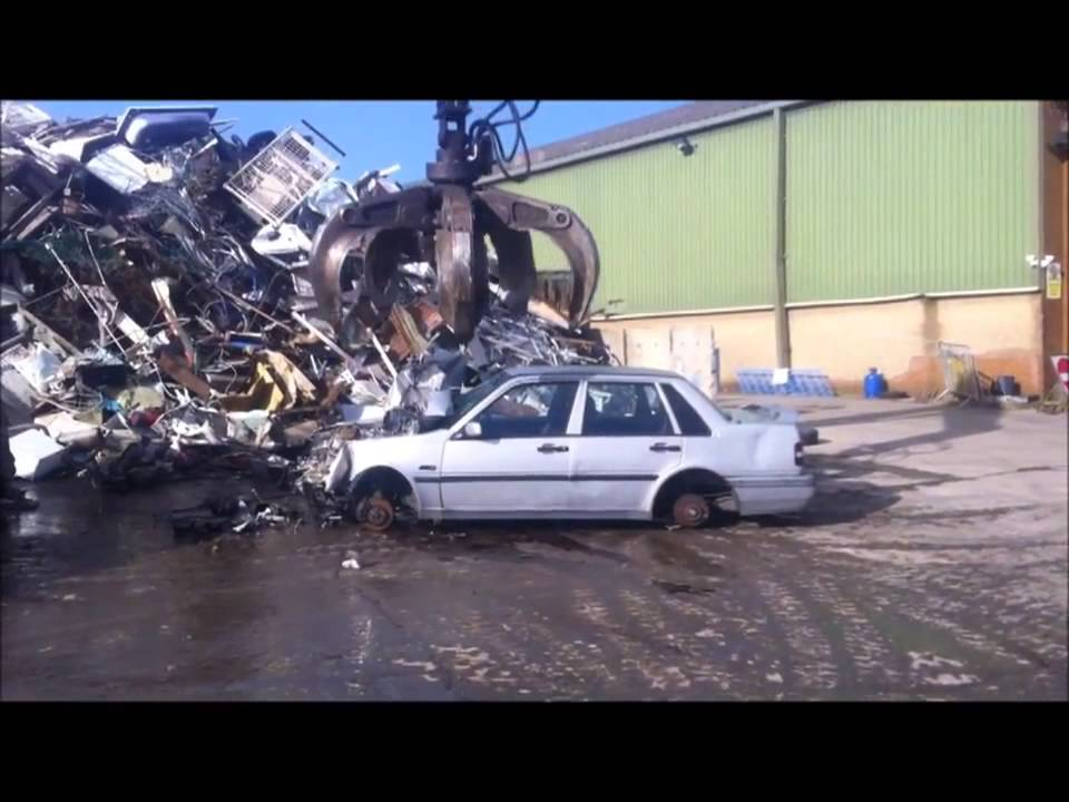 How We Process Scrap Cars - YouTube