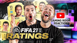 FIFA 21 RATINGS + Gaming Room Studio Planung und etwas Fall Guys 🔥😱