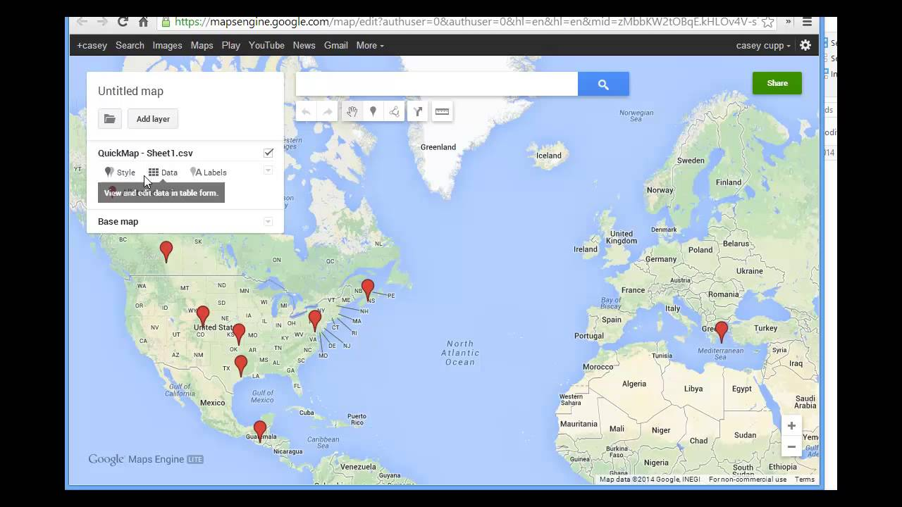Create Web Maps In 5 Minutes With Arcgis Online And Google