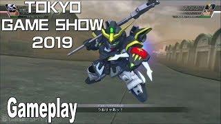 SD Gundam G Generation Cross Rays - Gameplay Demo TGS 2019 [HD 1080P]