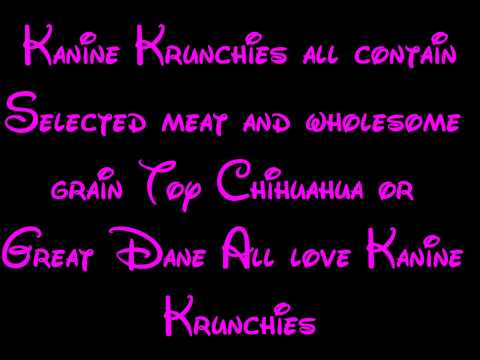 Kanine Krunchies - 101 Dalmatians Lyrics HD