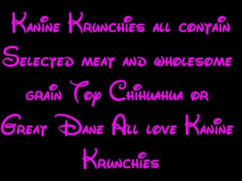 Kanine Krunchies  101 Dalmatians Lyrics HD