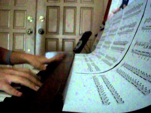 Clocks By Coldplay On Piano With Sheet Music
