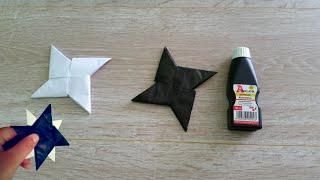 Kako napraviti origami suriken od papira
