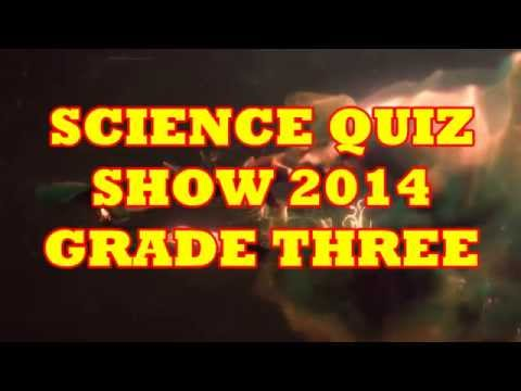 Science Quiz Show 2014 Grade 3
