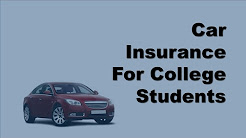 Car Insurance For College Students | Affordable Car Insurance Options for College Students